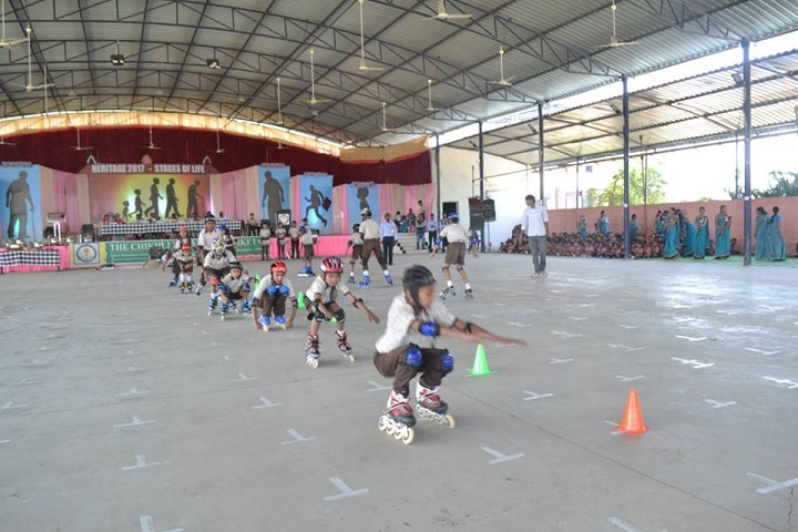 The Chikhli Urban Vidyaniketan-Indoor Game Activity