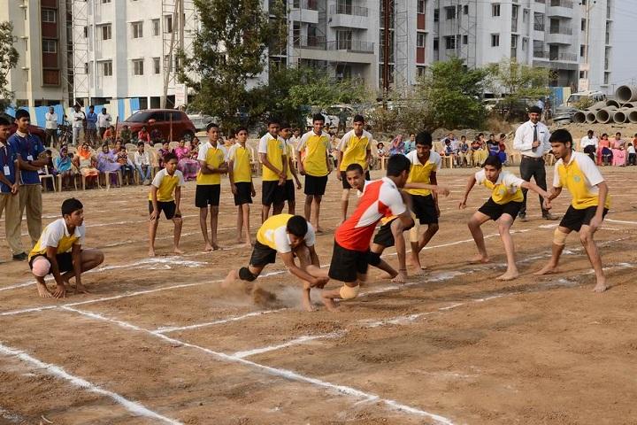 The Dwarka School-Sports