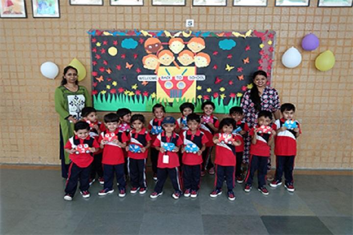 The Jain International School-First Day Of School