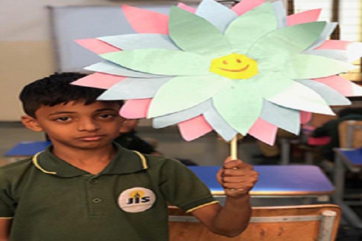 The Jain International School-Flower Making Competitions