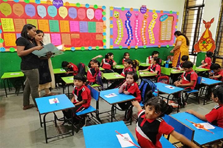 The Jain International School-Rakhi Making Activity