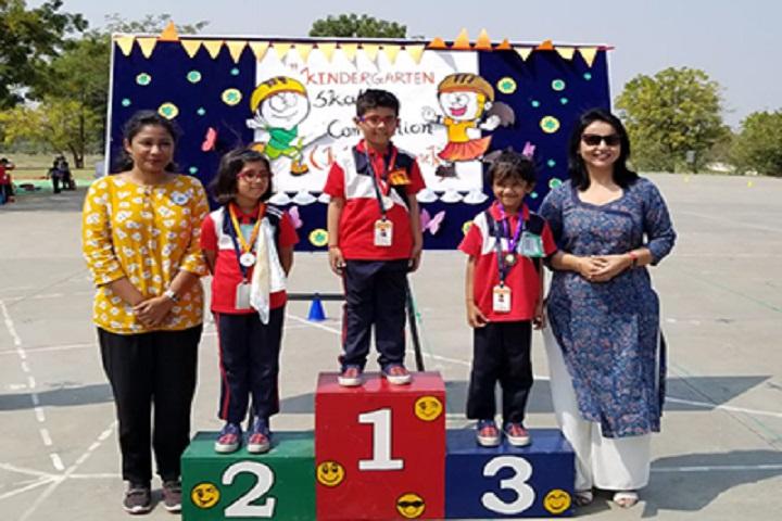 The Jain International School-Skating Competition