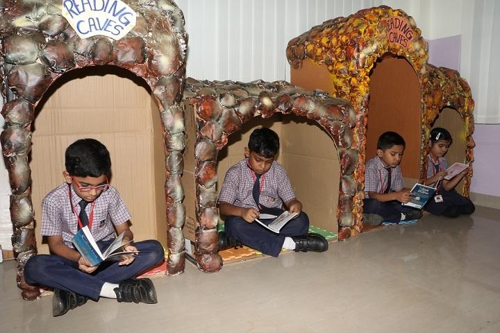 The Lexicon International School Kalyaninagar-Reading Caves in Library