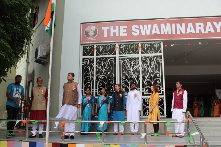 The Swaminarayan School-Republic Day Celebrations
