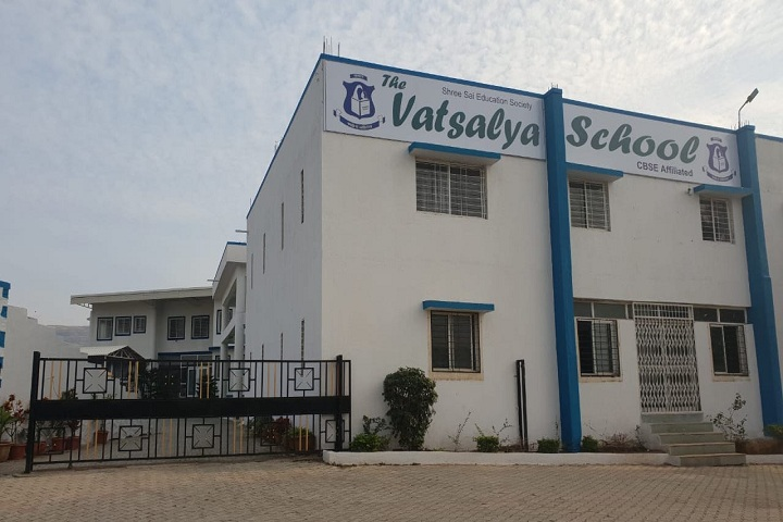 The Vatsalya School-Campus Front Phase View