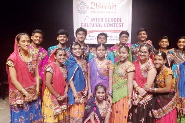 School Student Participating in Inter School Cultural Fest
