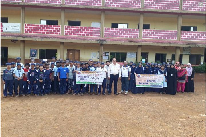 Umme Khadija English Medium School-Swachh Bharat