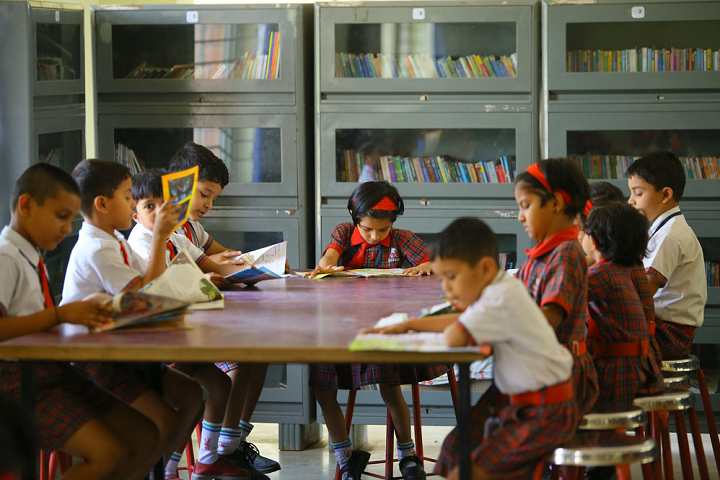 Universal Knowledge School-Library