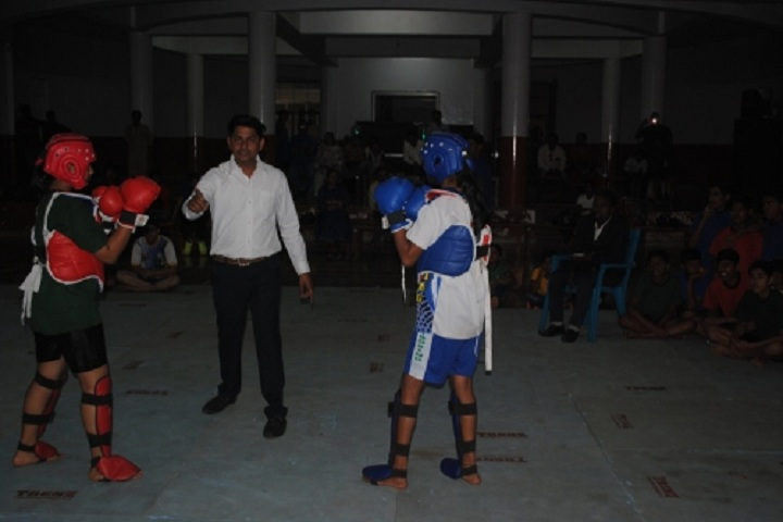 Vidya Niketan School-Thai Boxing