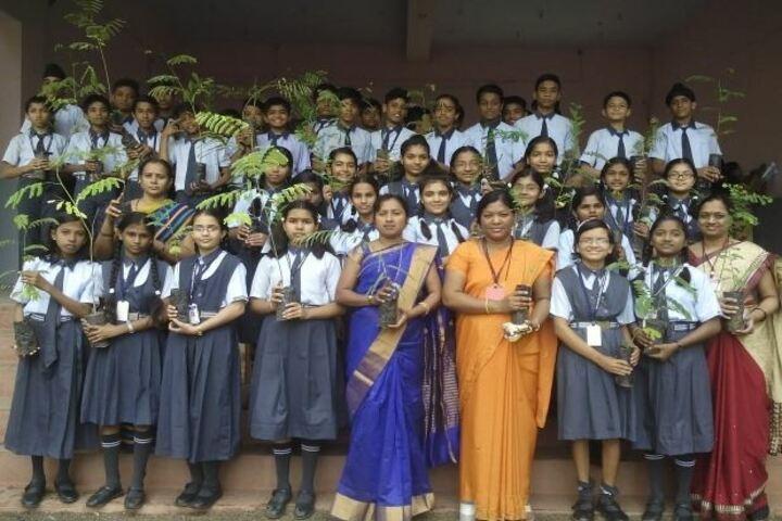 Vidya Niketan School-Plantation Drive