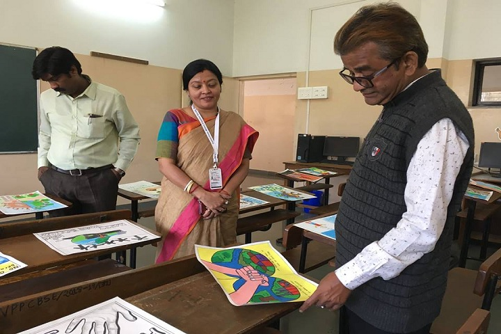 Vidya Prabodhini Prashala English-Inter School Drawing Competition