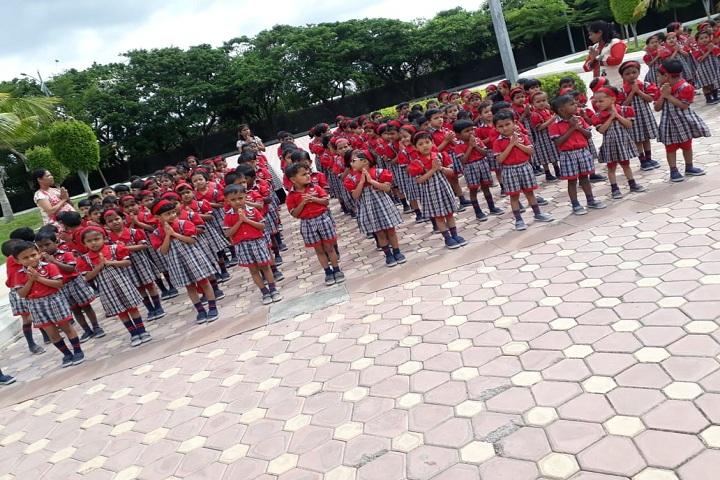 Vidya Pratishthans New Bal Vikas Mandir-Assembly View