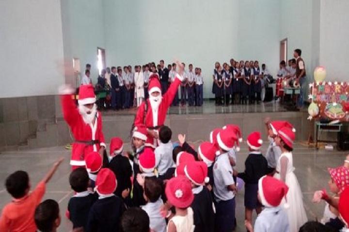 Vidya Pratishthans Someshwar English Medium School-Christmas Celebrations
