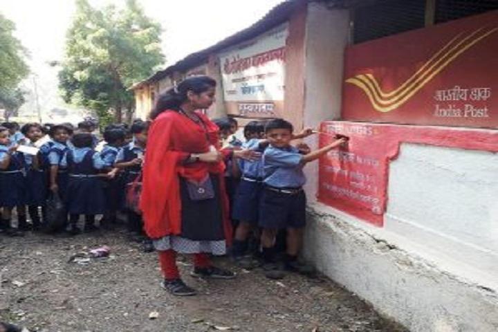 Vidya Pratishthans Someshwar English Medium School-Visited to Post Office