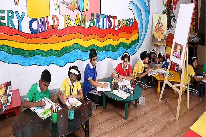 Vidyarambh School-Drawing Competition