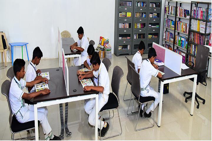 Vidyarambh School-Library