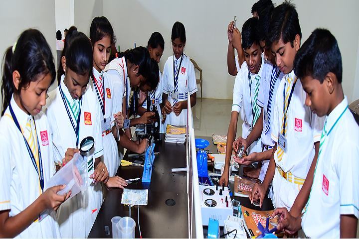 Vidyarambh School-Science Lab