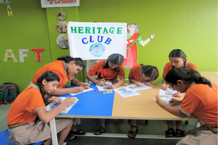 Viraj Shri Ram Centennial School-Heritage Club