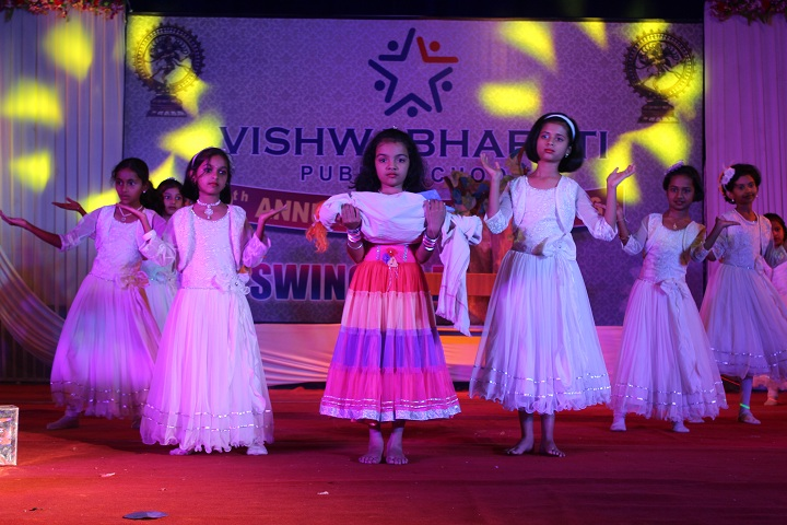 Vishwabharati Public School-Dance Program