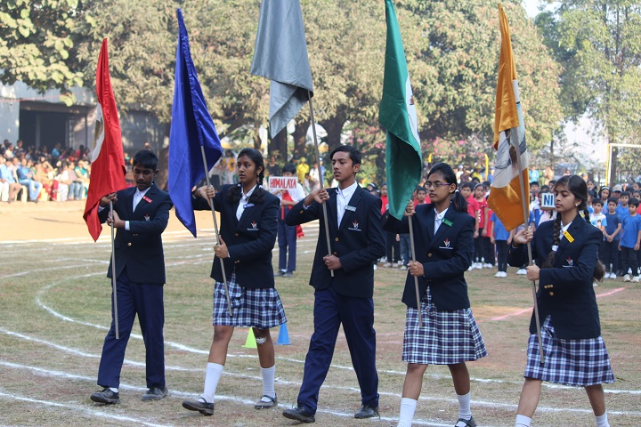 Vishwajyot High School-Parade