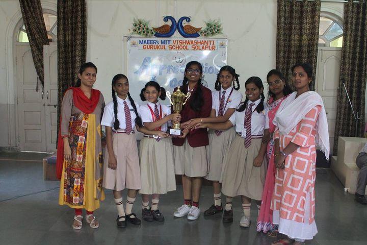 Vishwashanti Gurukul School-Felicitation