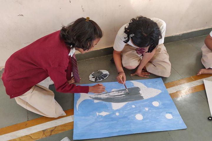 Vishwashanti Gurukul School-Painting
