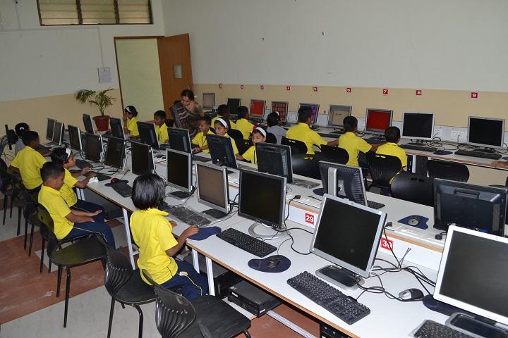 Vivekananda Academy Of Human Excellence-Computer Lab