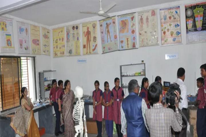 Vivekananda English School-Biology Lab