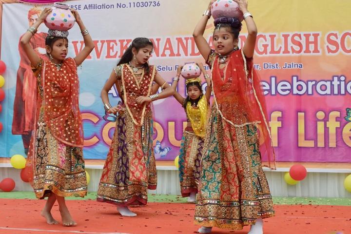 Vivekananda English School-Group Dance