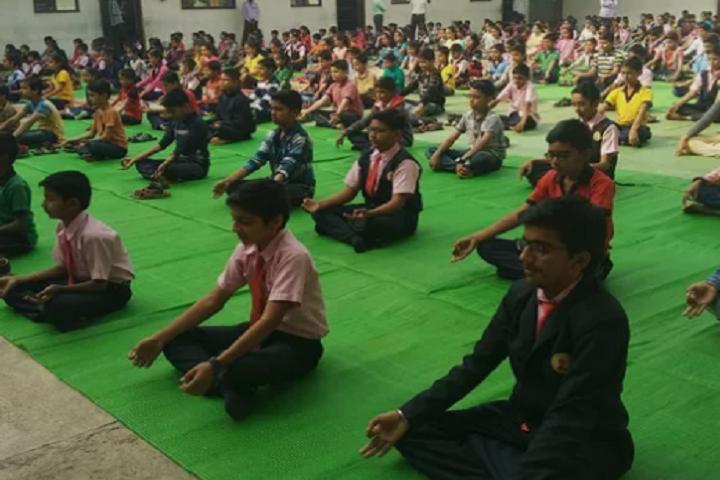 Vivekananda English School-Yoga
