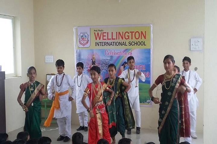 Wellington International School-Celebration on Guru Purnima