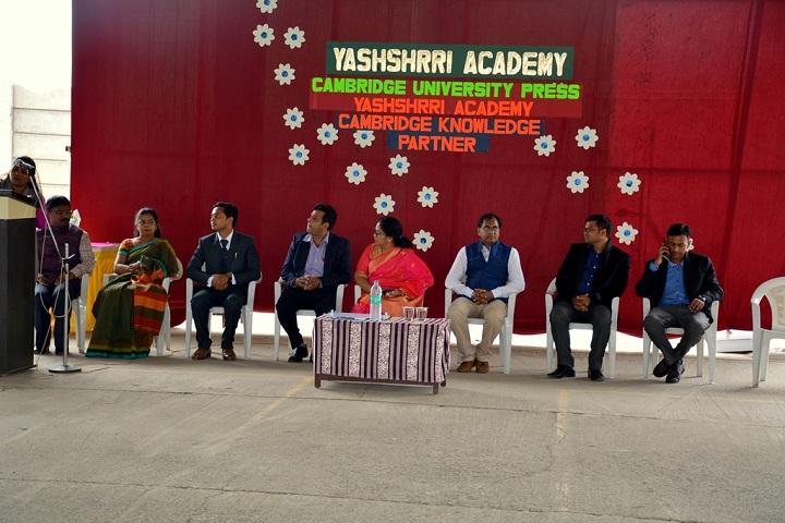 Yashshree Academy-Cambridge Knowledge Partner