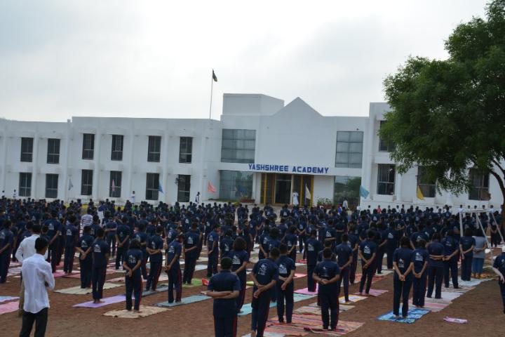 Yashshree Academy- Yoga Day Celebration