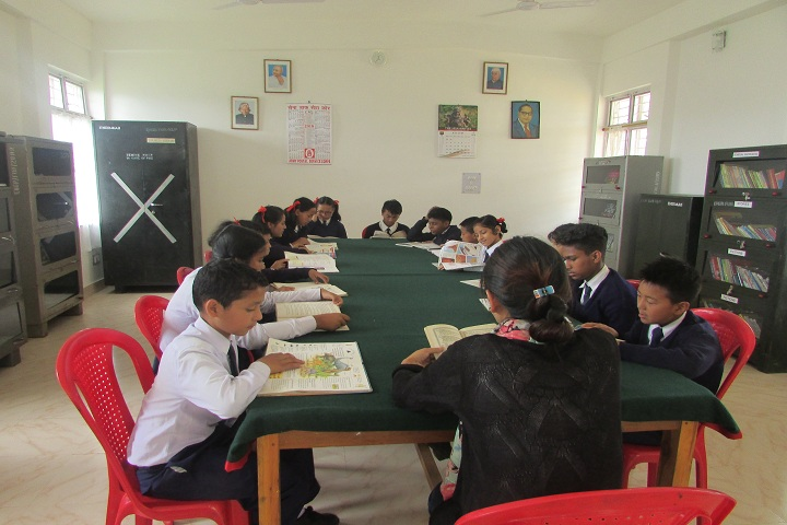 Assam Rifles High School-Library