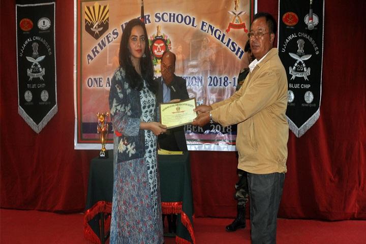 Assam Rifles Middle School-Awards