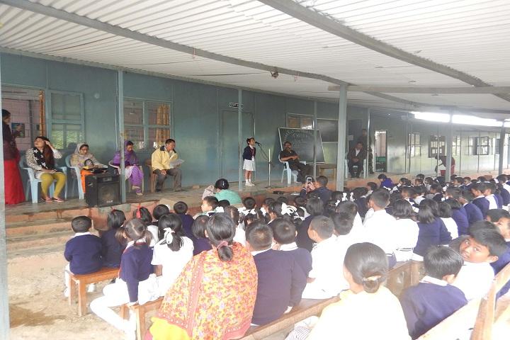 Assam Rifles Middle School-Singing