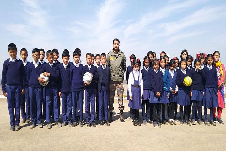 Assam Rifles Middle School-Sports Team
