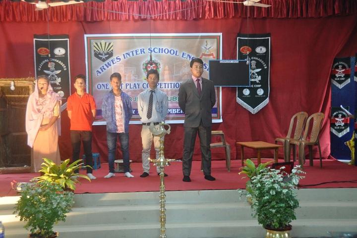 Assam Rifles Middle School-Students