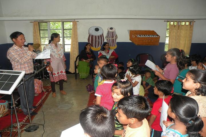 Assam Rifles Public School-Music