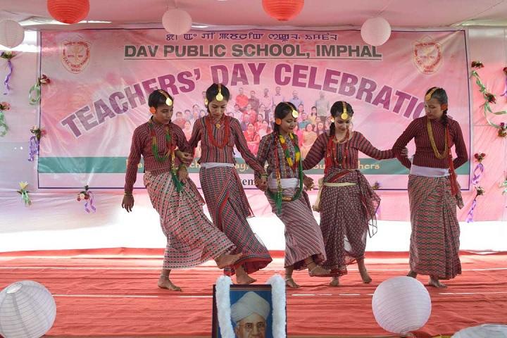 Dav Public School-Events programme