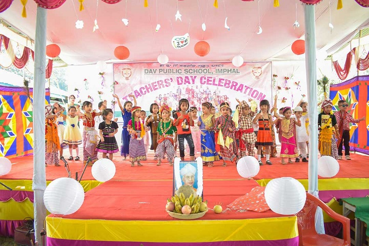 Dav Public School-Events teachers day