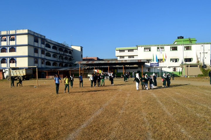 Hundred Flowers Higher Secondary School-Sports playground