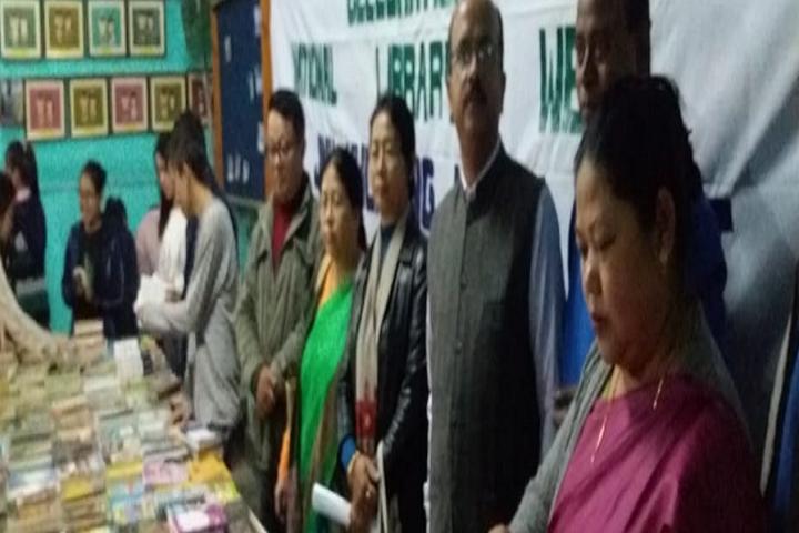 Jawahar Navodaya Vidyalaya-Books Exhibition