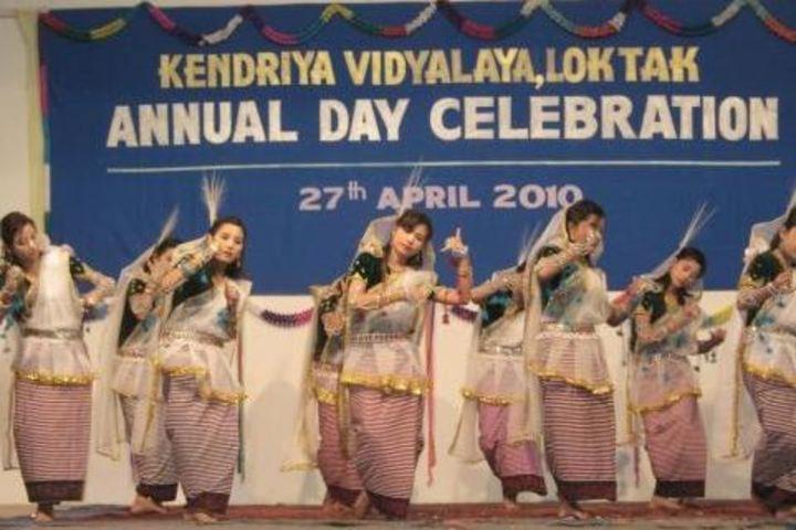 Kendriya Vidyalaya-Annual Day Celebrations dance