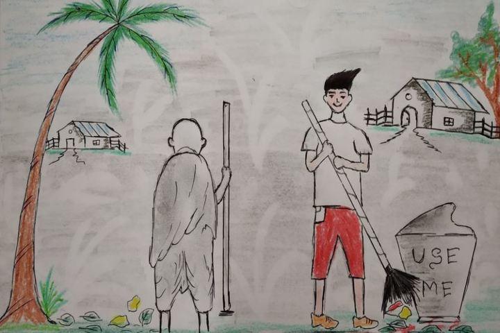 Kendriya Vidyalaya-Painting Competetion