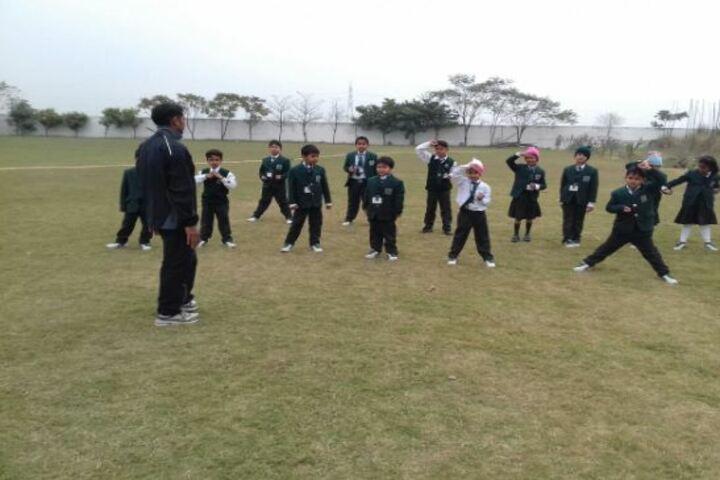 Delhi Public World School-Ground