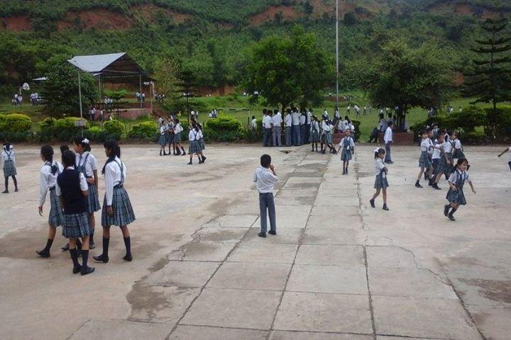 Mega Manipur School-Campus Ground