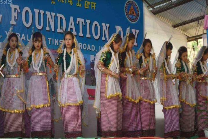 Mega Manipur School-Foundation Day Celebrations