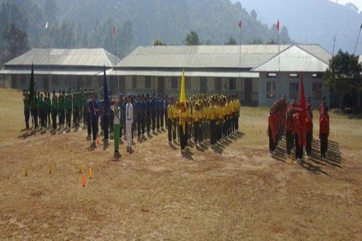 Mega Manipur School-Houses