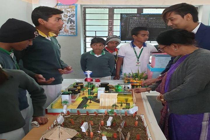 Destiny International School-Science Exhibition